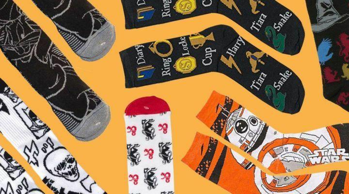 ¡Oferta! 3 pares de calcetines frikis por 7,99€ y 5 pares por 11,99€