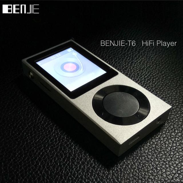 Benjie T6 / AGPTek Rocker... reproductor MP3 barato con muy buen sonido y bluetooth.