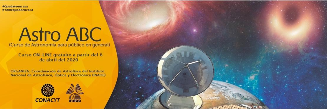 Curso gratuito de Astronomía : Astro ABC