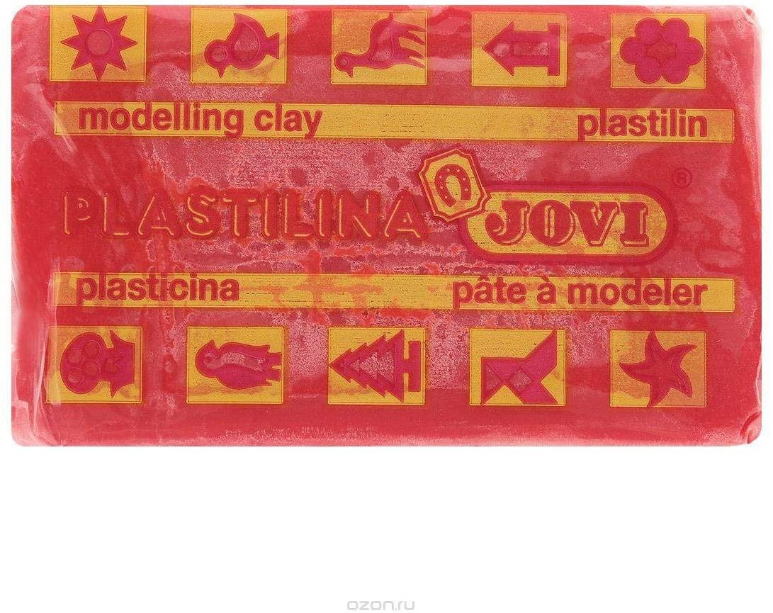Plastilina, color rojo