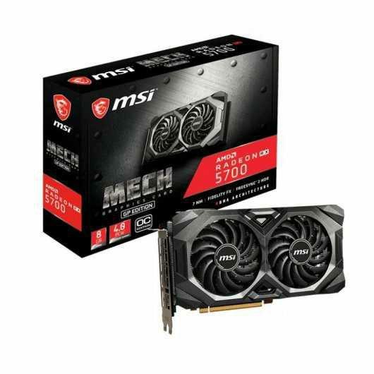 MSI Radeon RX 5700 MECH GP OC 8GB GDDR6 +JUEGOS