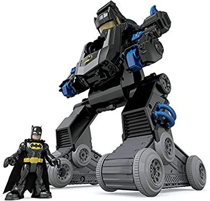 Bat Robot - Imaginext de 50cm con luces y sonidos.