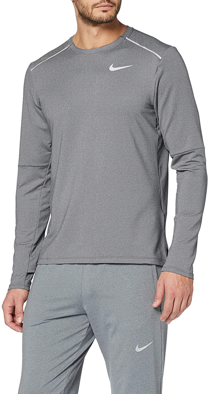 M Nk Elmnt Crew 3.0 Long Sleeved T-Shirt, Hombre talla S.