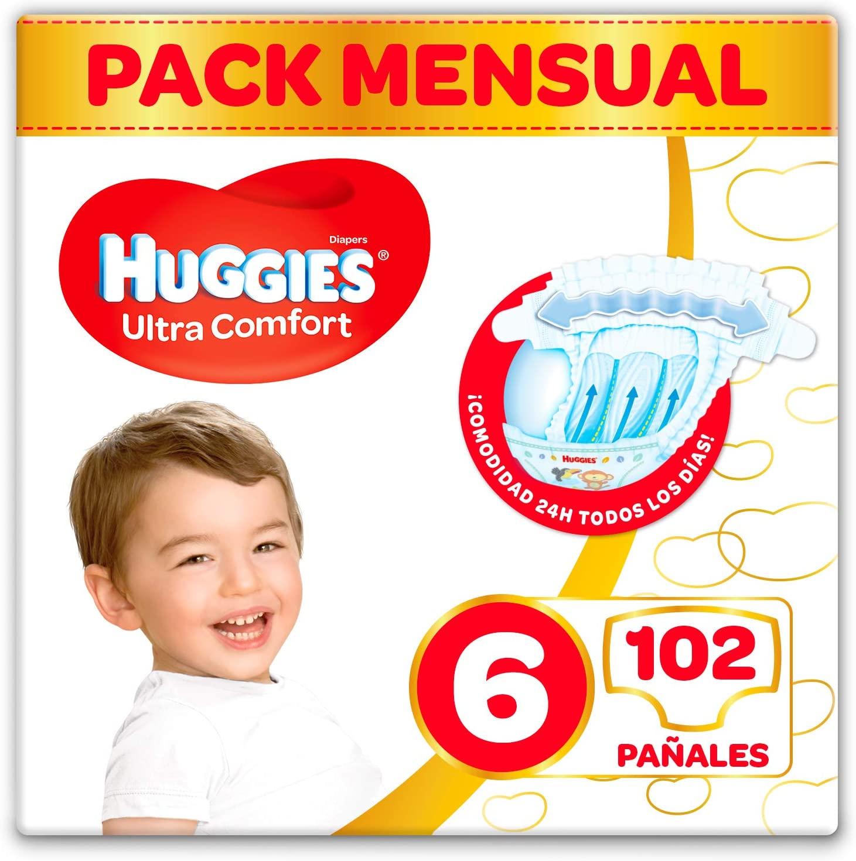 Pañales Huggies Talla 6 (Descuento automático al tramitar)