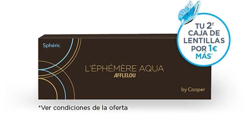 2a caja de lentillas diarias en Alain Afflelou por 1 euro más