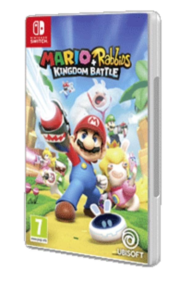 "Juego Nintendo Switch ""Mario + Rabbids Kingdom Battle"""