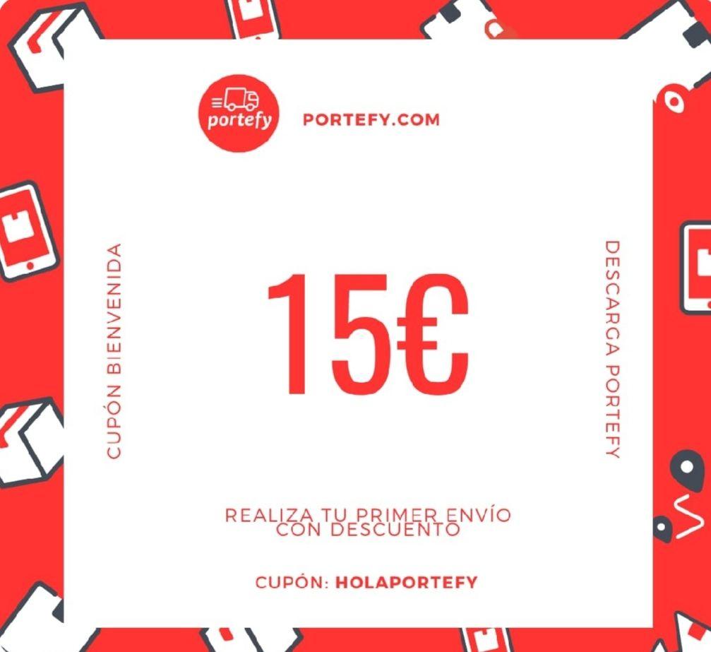 Portefy | 15€ dto en tu primer envío