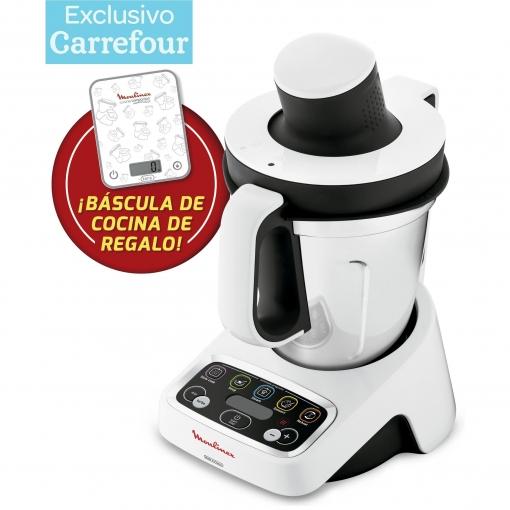 Robot de cocina Moulinex HF4041BC + Bascula de cocina de Regalo