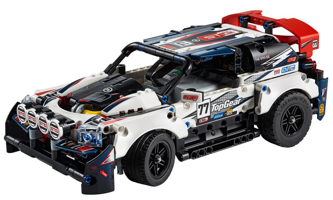 LEGO Technic 42109 - Coche de Rally Top Gear Controlado por App (Amazon.de)