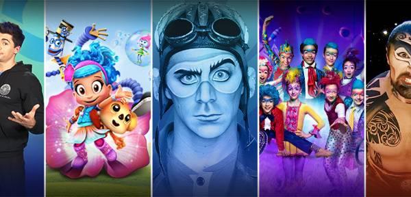 Cirque du soleil (Alegría, Kooza y KÀ) Viernes 10 a las 21:00