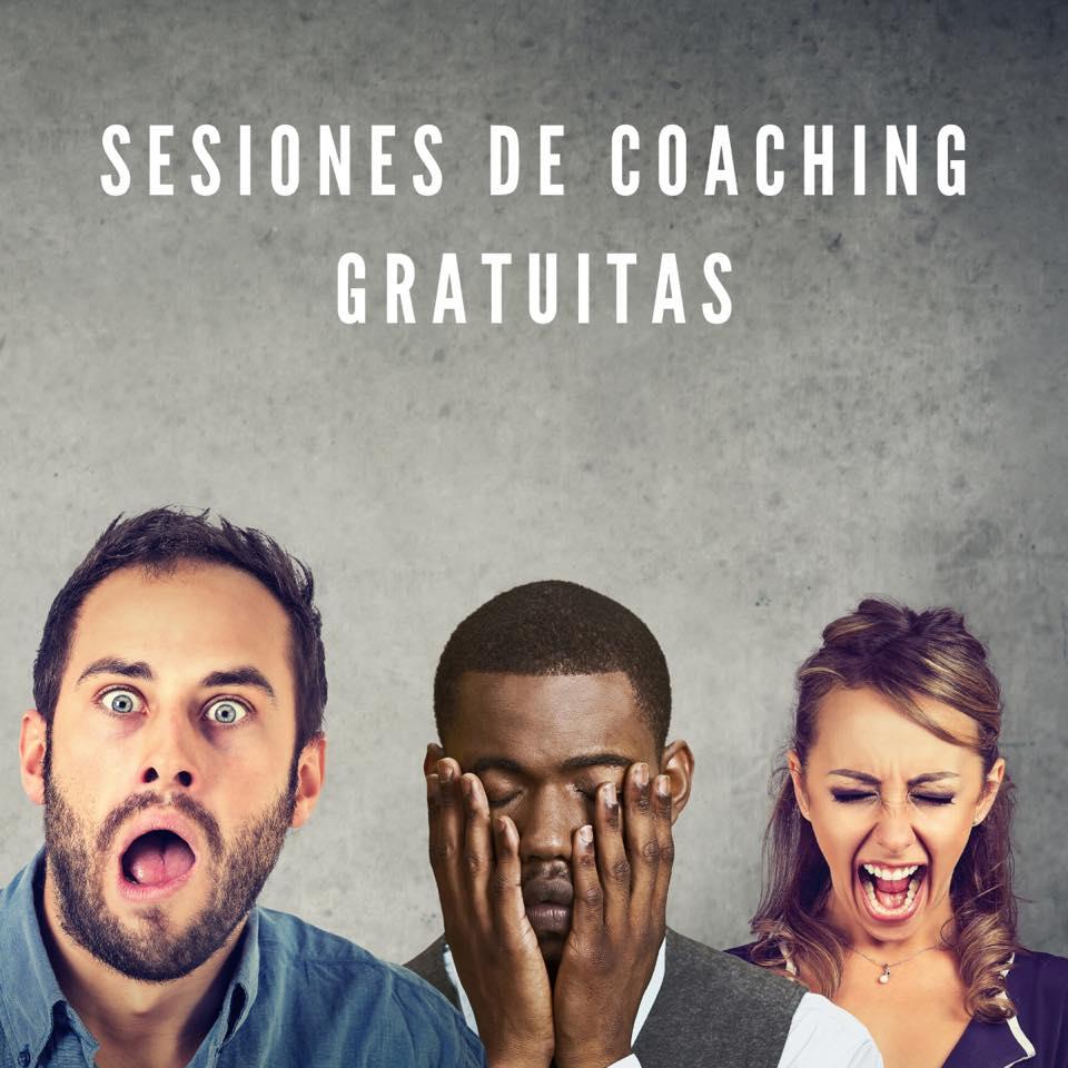 Sesiones de Coaching gratis.