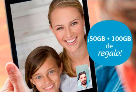 Tarifa Movistar 50GB+100GB