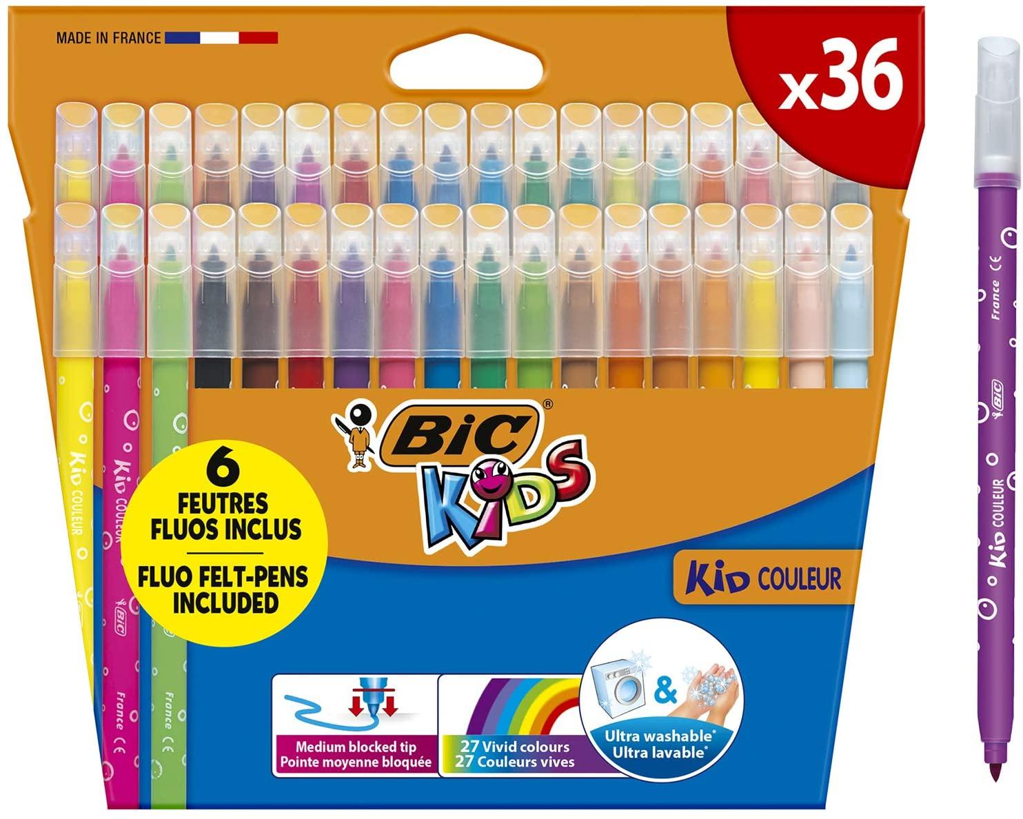 BIC Kids Kid Couleur estuche de 36 5,47€