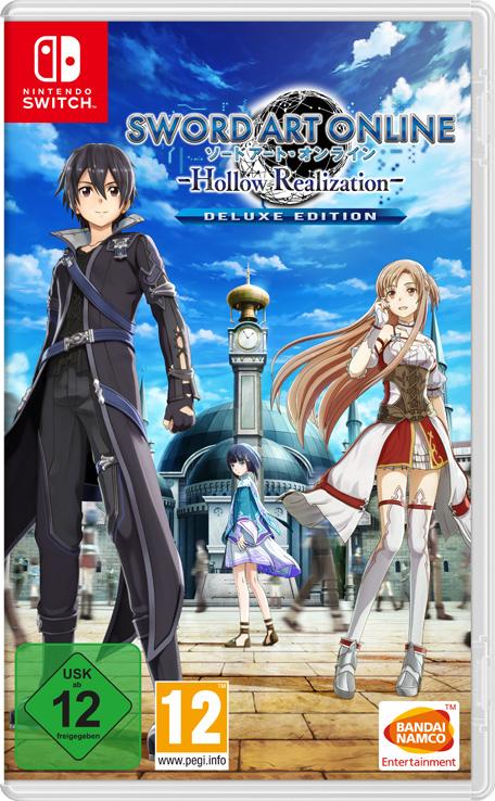 Sword Art Online: Hollow Realization - Deluxe Edition para Nintendo switch (digital)