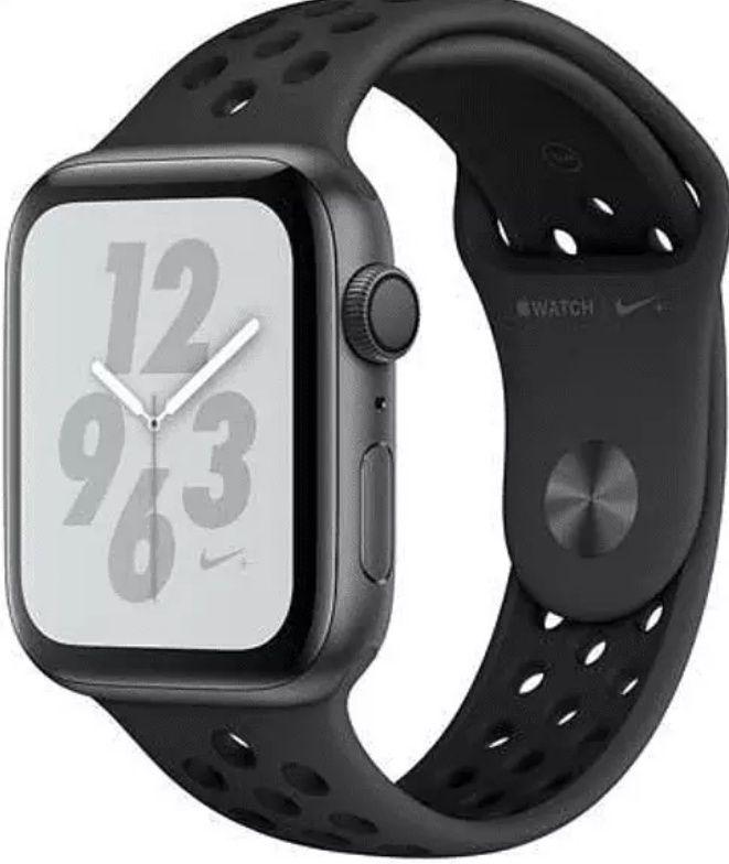 Apple Watch S4 Nike+, GPS, 40 mm, Aluminio gris esp + correa Nike Sport Negro