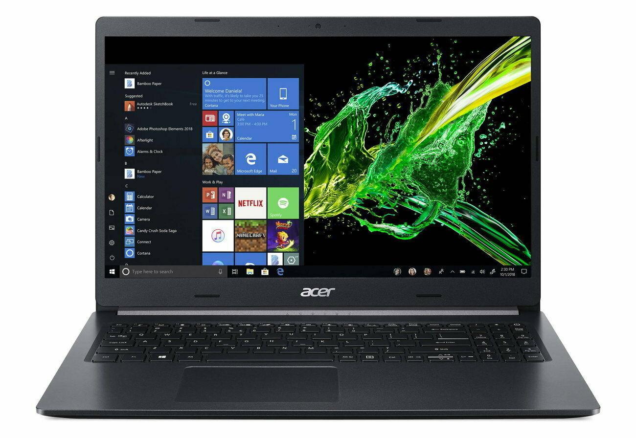 "Acer 15.6"" FHD I7 10ª 8GB 512GB 569€"