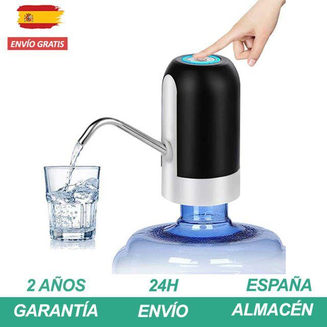 Dispensador de agua eléctrico para todo tipo de botella.