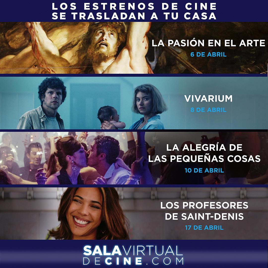 Sala Virtual de Cine (oferta lanzamiento)