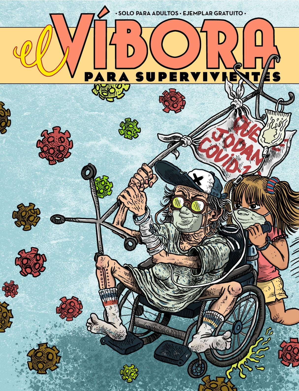 Revista El víbora gratis durante la cuarentena desde su web