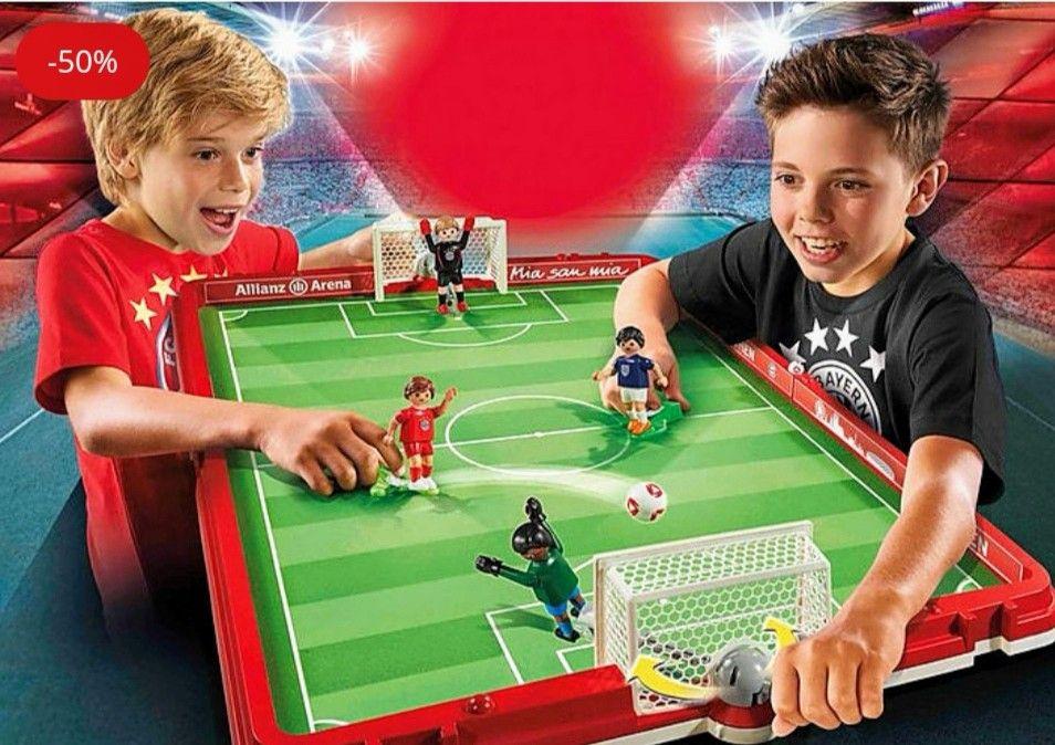PLAYMOBIL Set de Fútbol Maletín FC Bayern Múnich