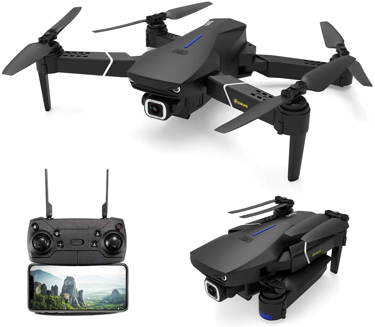 EACHINE E520S Drone con Camara HD Drone 4k Drone GPS Drones con Camaras Profesional