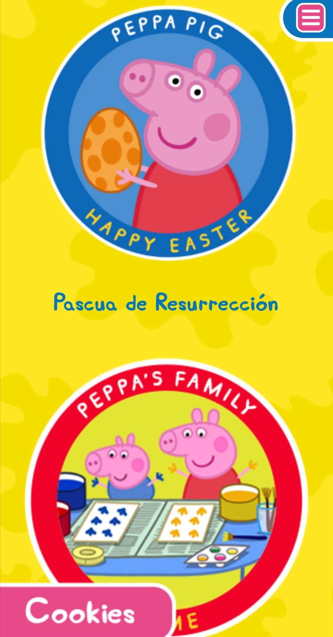 Actividades Peppa Pig