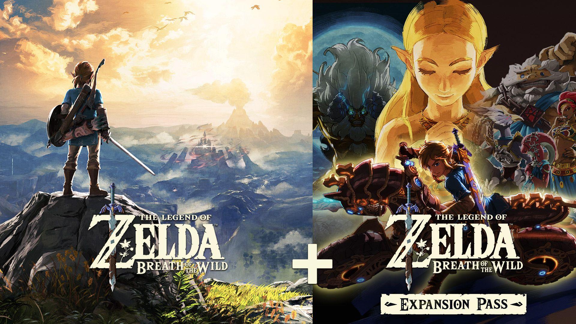 Pack digital: The Legend of Zelda: Breath of the Wild + pase de expansión Nintendo Switch