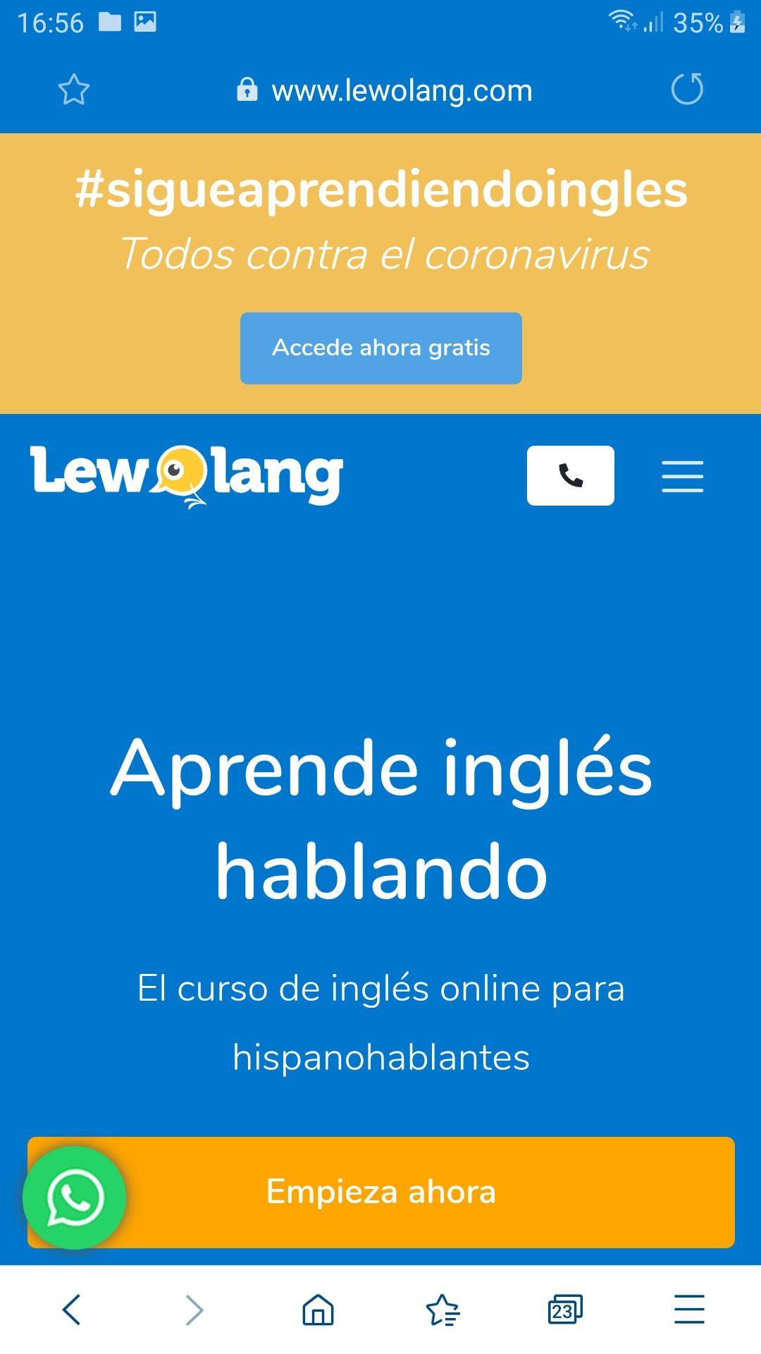 Curso Inglés para hispanohablantes GRATIS durante la pandemia