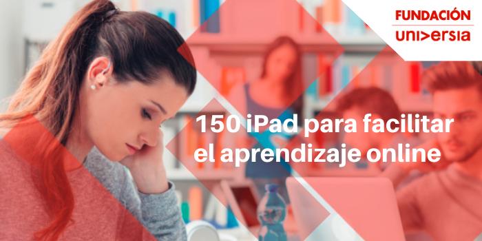 150 IPad gratis para estudiantes universitarios con discapacidad
