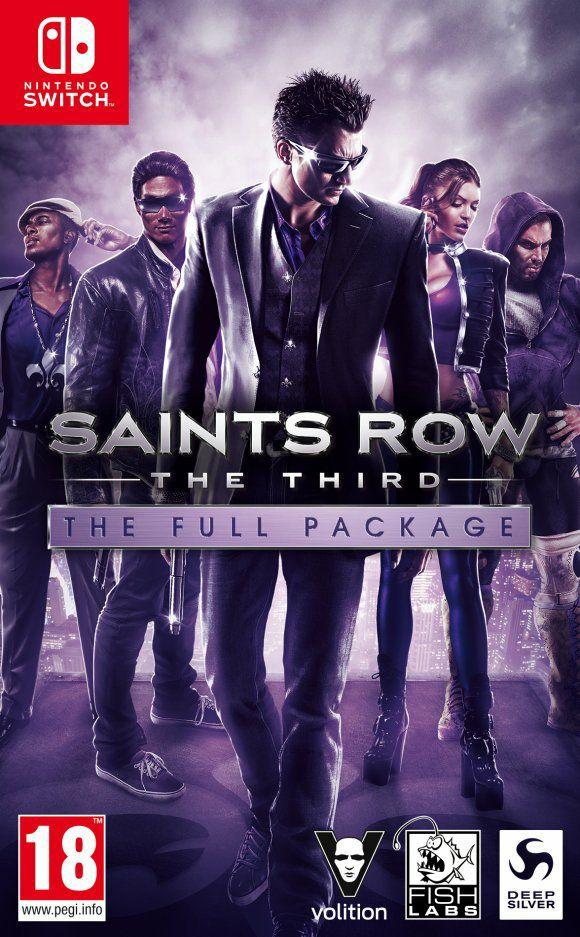 Saint Row: The Third - The Full Pack Switch (Eshop Rusa)
