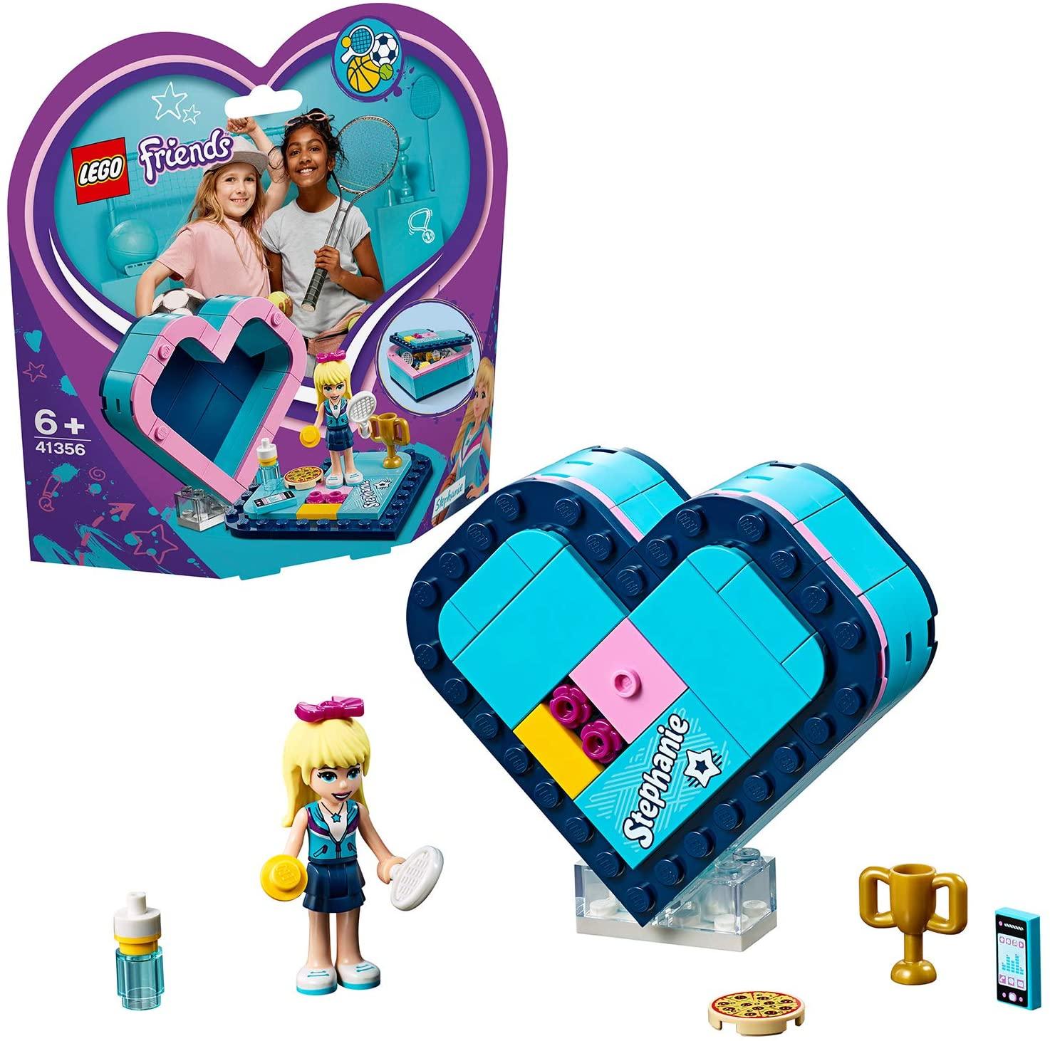 LEGO Friends - Caja Corazón de Stephanie - Set de construcción