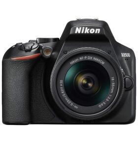 Cámara Nikon D3500 + objetivo 18-55 + funda