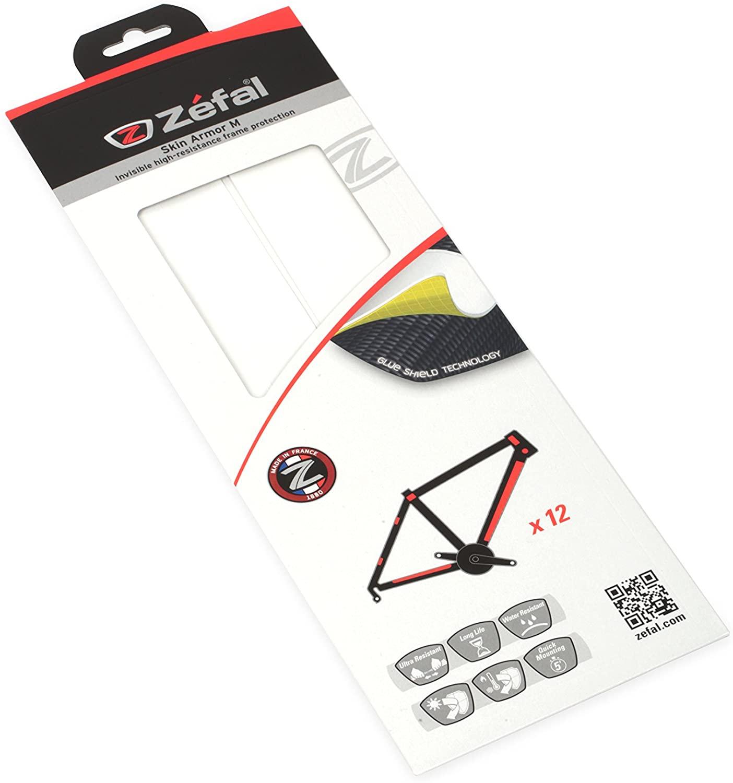 Vinilo Protector para Cuadro de Bicicleta. Zefal Skin Armor M (12 Piezas)