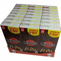 Mikado Pocket Chocolate caja de 24 unidades de 39 gr. (Envio gratis compra superior 40€)DISPONIBLE TAMBIÉN CHOCOLATE CON LECHE