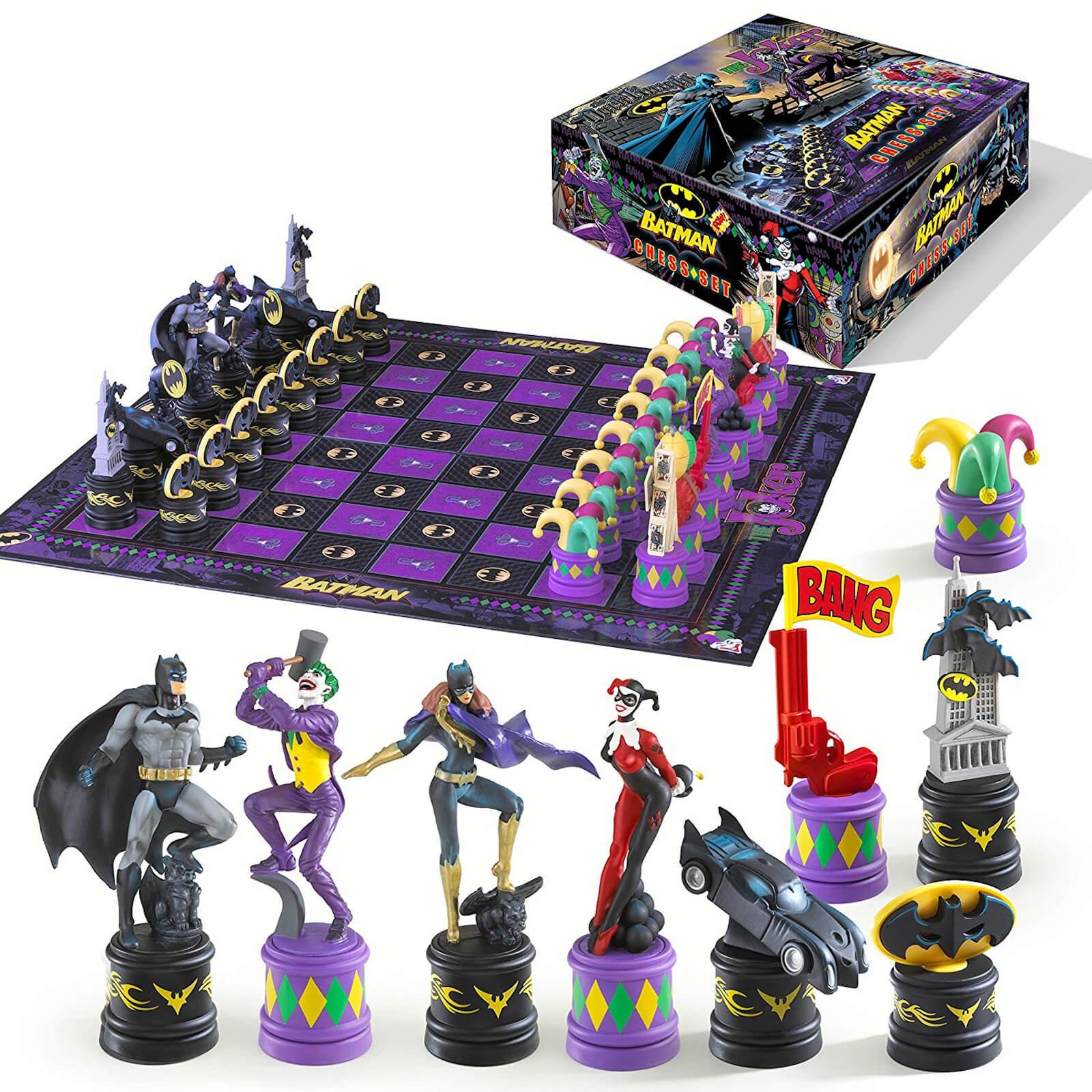 Ajedrez DC Comics Batman Dark Knight vs Joker