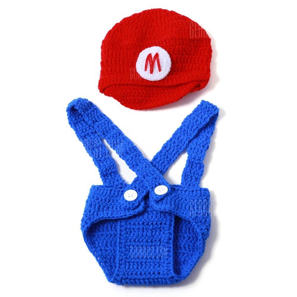 Disfraz Mario Bros para bebes