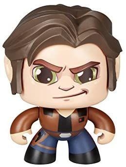 Star Wars- Mighty Muggs Figura de Vinilo, Multicolor - Han Solo