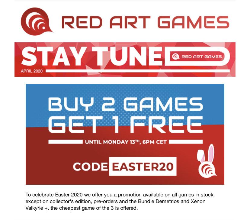 Juegos Red Art Games 3x2