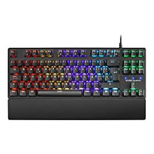 Mars Gaming MKXTKL, teclado mecánico switch rojo PORTUGUÉS