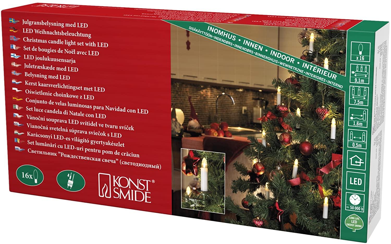 16 luces para Árbol de Navidad (De 2ª mano - Como nuevo)
