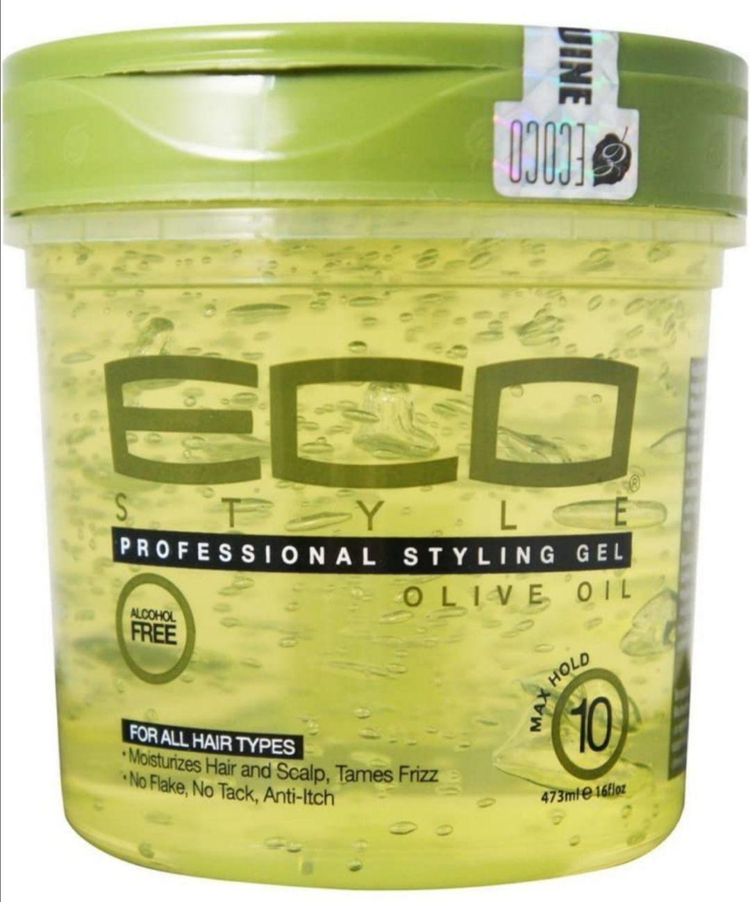Eco Styler Styling Gel a base de aceite de oliva - Para todo tipo de cabello - 473 ml