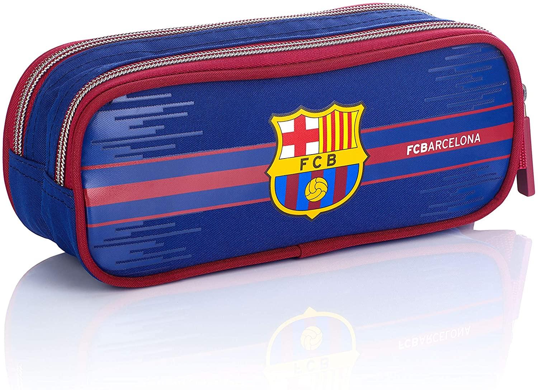 FC Barcelona FC-227 Fan 7 - Estuche (22 cm), Color Azul Marino