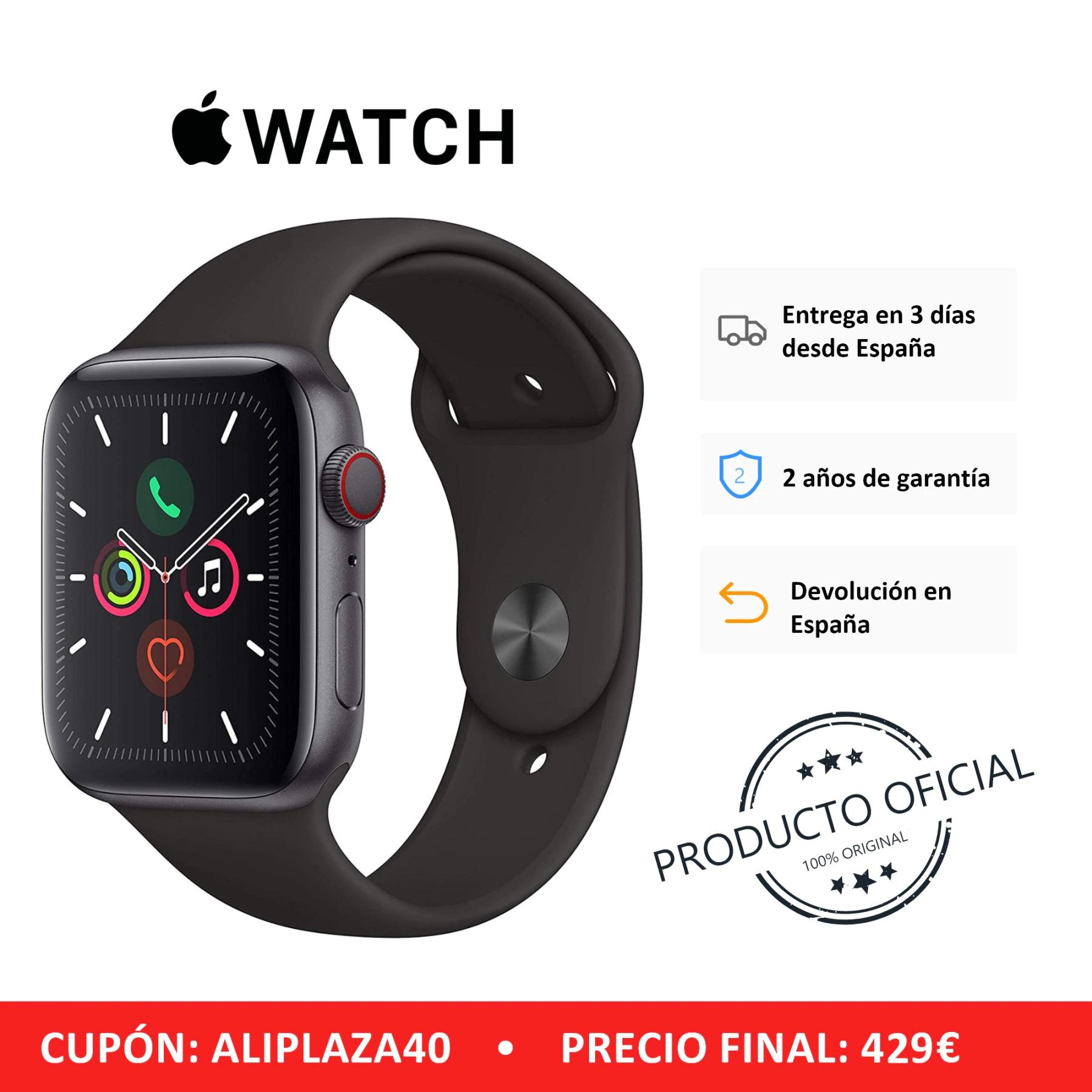 Apple Watch Series 5 GPS de 44 mm