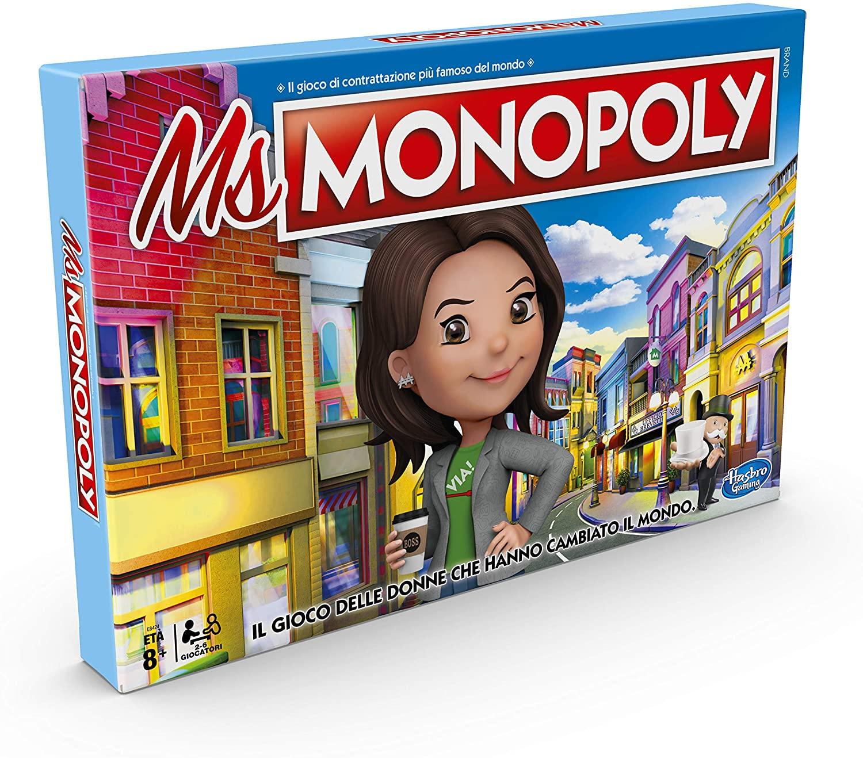 Hasbro MS.Monopoly - Juego de mesa
