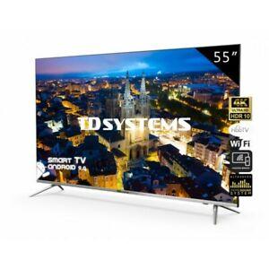 "TV 55"" Led Ultra HD 4K Smart TD Systems K55DLJ10US (BARATO)"