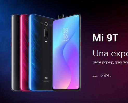 XIAOMI MI 9T 6GB/64GB - TIENDA OFICIAL XIAOMI (179€ con Mi Points)