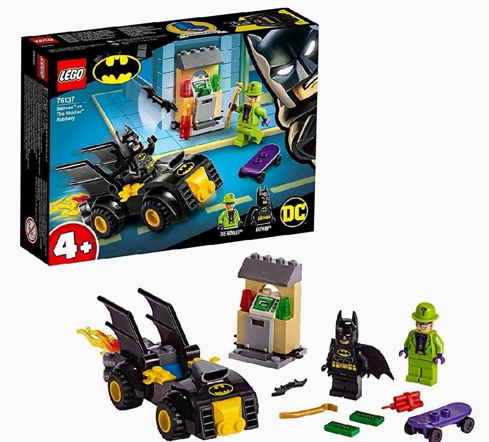 LEGO Super Heroes - Batman y el Robo de Enigma