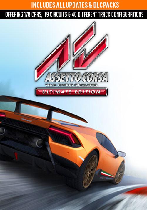 ASSETTO CORSA + TODOS DLC's