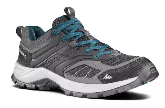 TALLAS 43 y 44 - Zapatillas de Montaña y Trekking, Quechua, MH100, Hombre, Gris