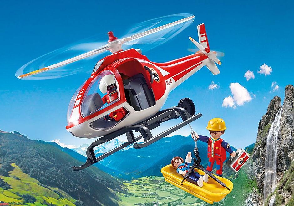 Helicóptero de Rescate de Montaña